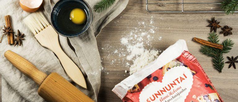 Sunnuntai-jauhoilla loihdit joulun herkkuhetket