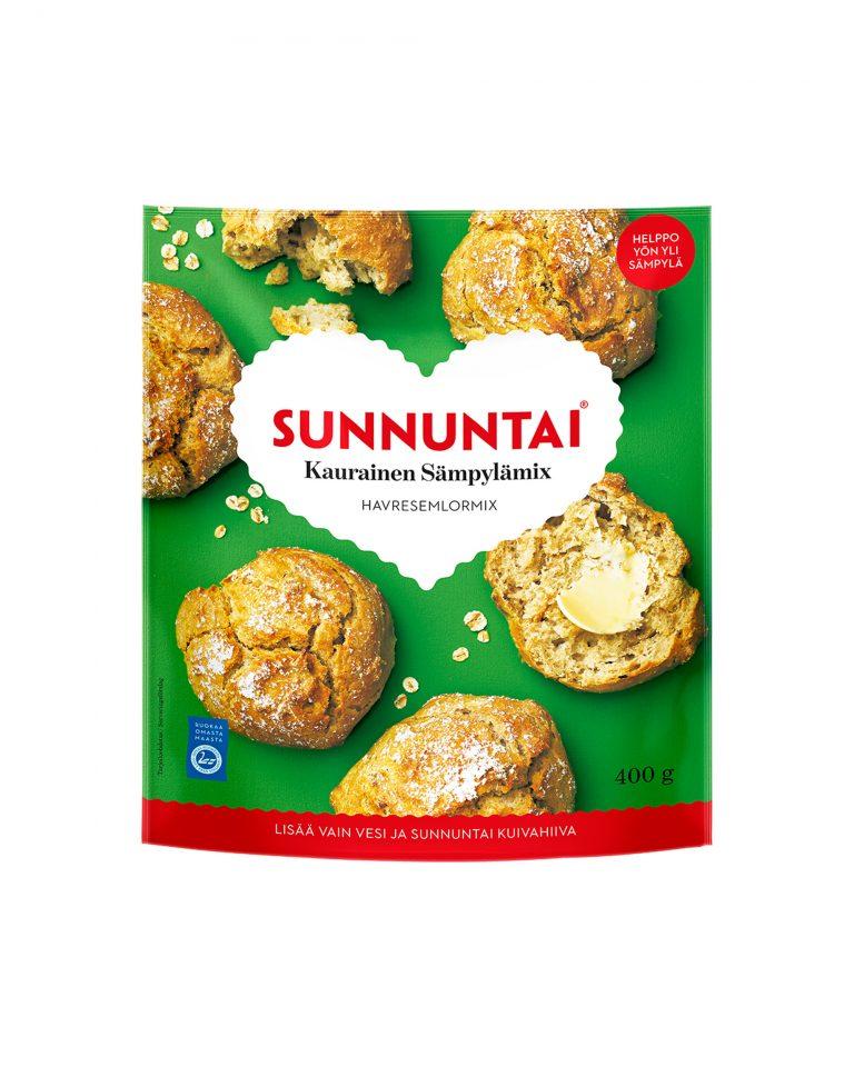 Sunnuntai Kaurainen Sämpylämix