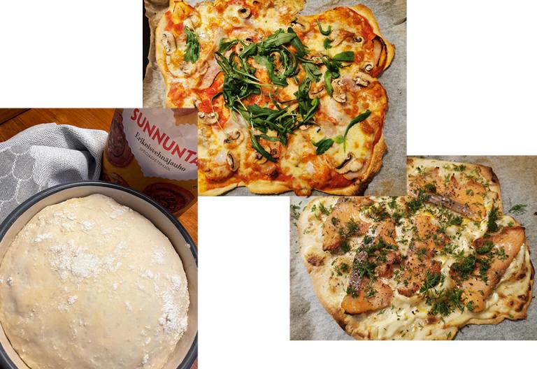 Sunnuntai hävikkipizza