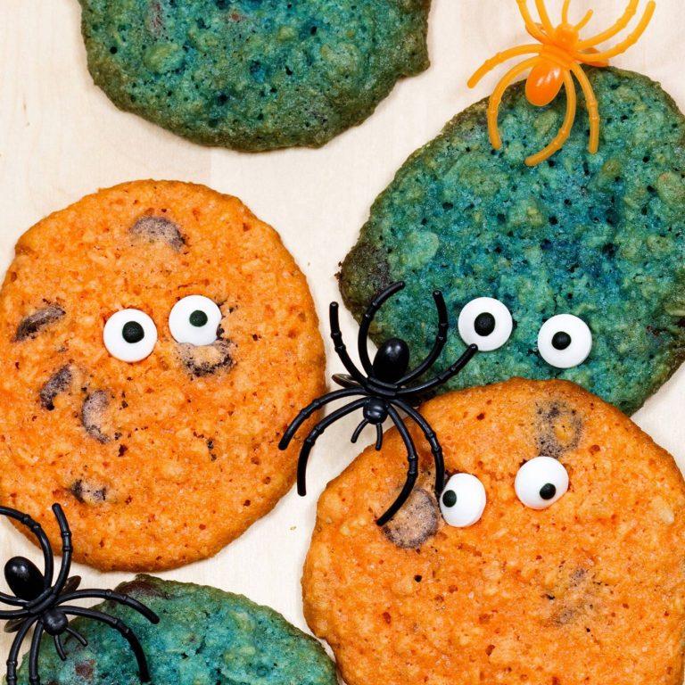 Sunnuntai halloween-kaurakeksit